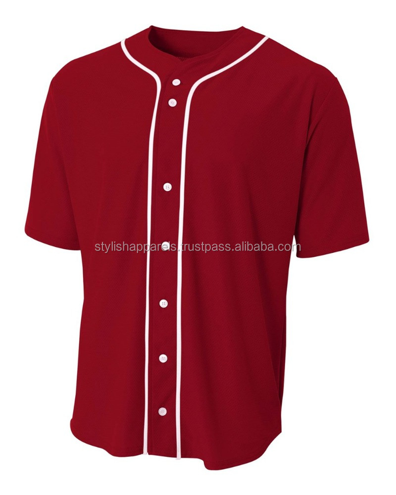 32f43b07850 Custom Blank Baseball Jersey Wholesale - Buy Cheap Wholesale Plain ...