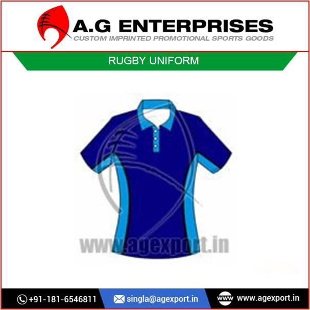 Sublimated Cool Rugby Jerseys with Custom Colors and Design