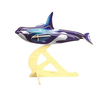 3d killer whale wood puzzle buy educational toys product on