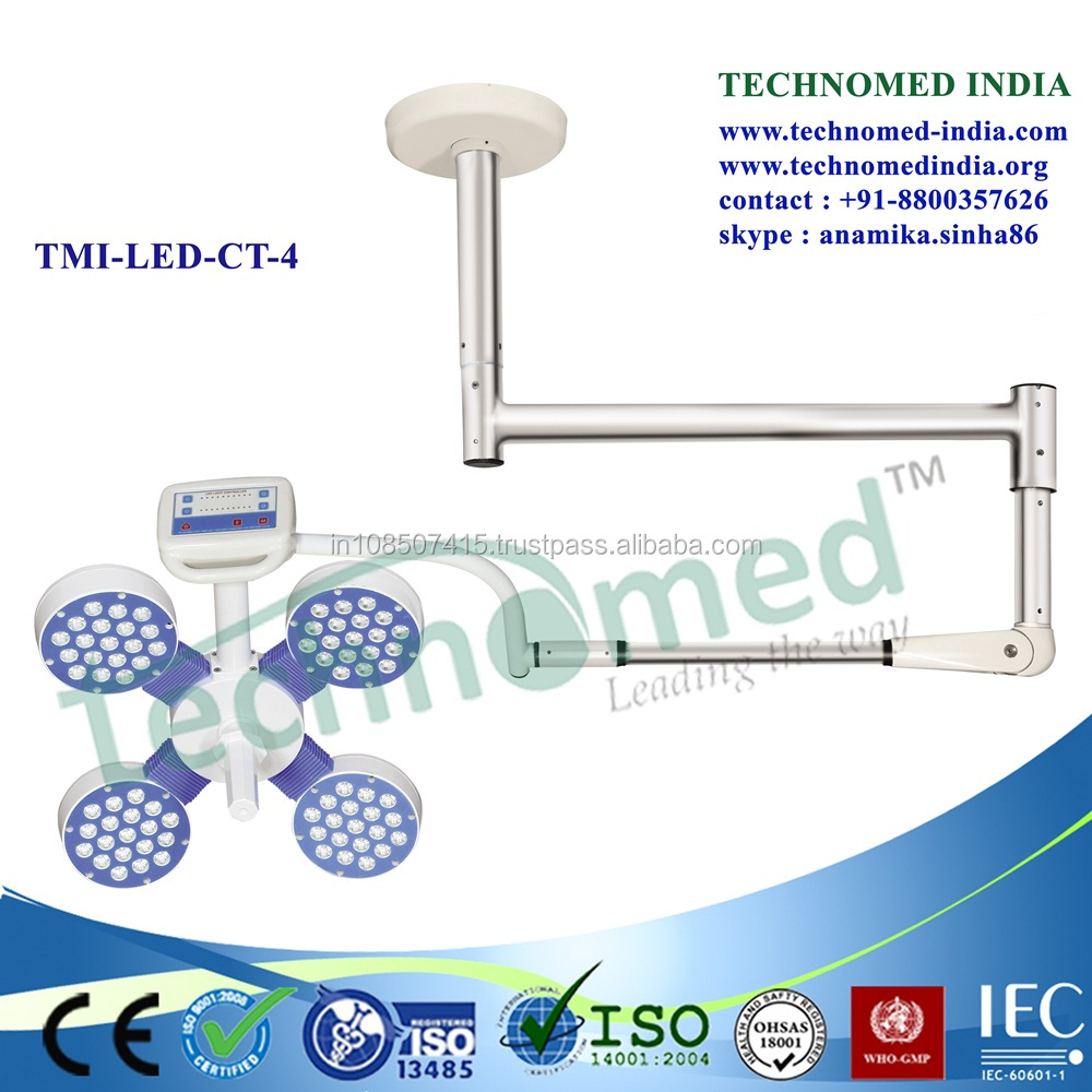 TMI-LED-CT-4 Mobile CE ISO shadowless led medical light x