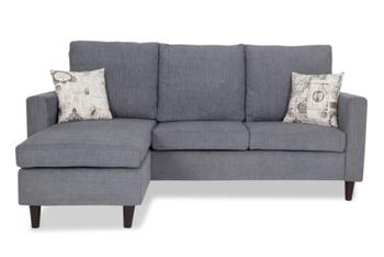 Exceptionnel Hambolt 3 Seater Sofa Set (2 + L) Grey Colour
