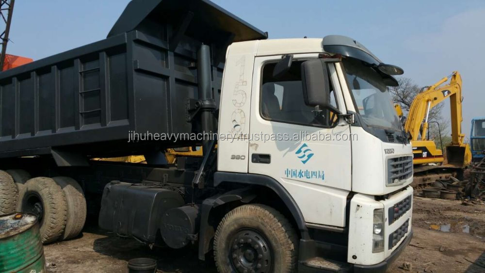 used volvo dump truck with kow price for sale