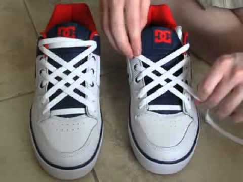 vans shoes lacing styles