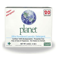 Ultra Powdered Laundry Detergent, 64 OZ by Planet Inc.