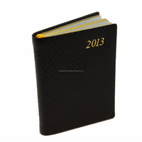 Planner Diary Pure Leather Cover Journal Meeting Daily Writing Notebook