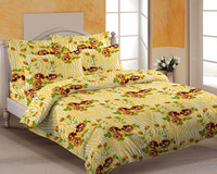 100% cotton bed sheet Indian cotton bed sheets set quality product only export