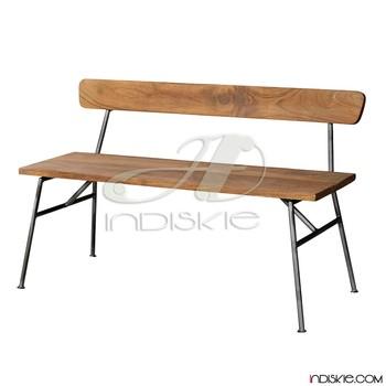 Outdoor Furniture Beach Chairs Vintage Industrial Wooden Garden Benches