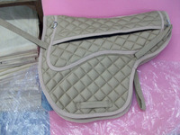 treeless saddle pad insert fleece pocket