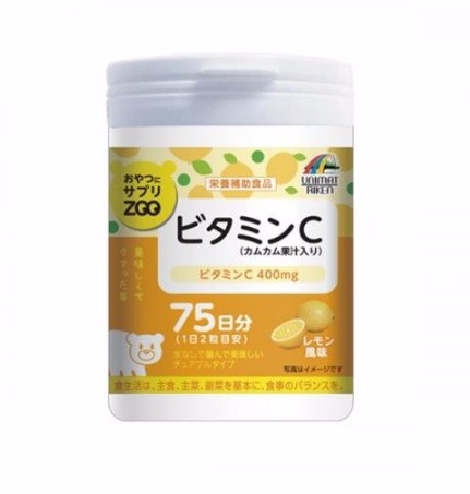 Vitamn C health and beauty products UNIMAT made in Japan for children