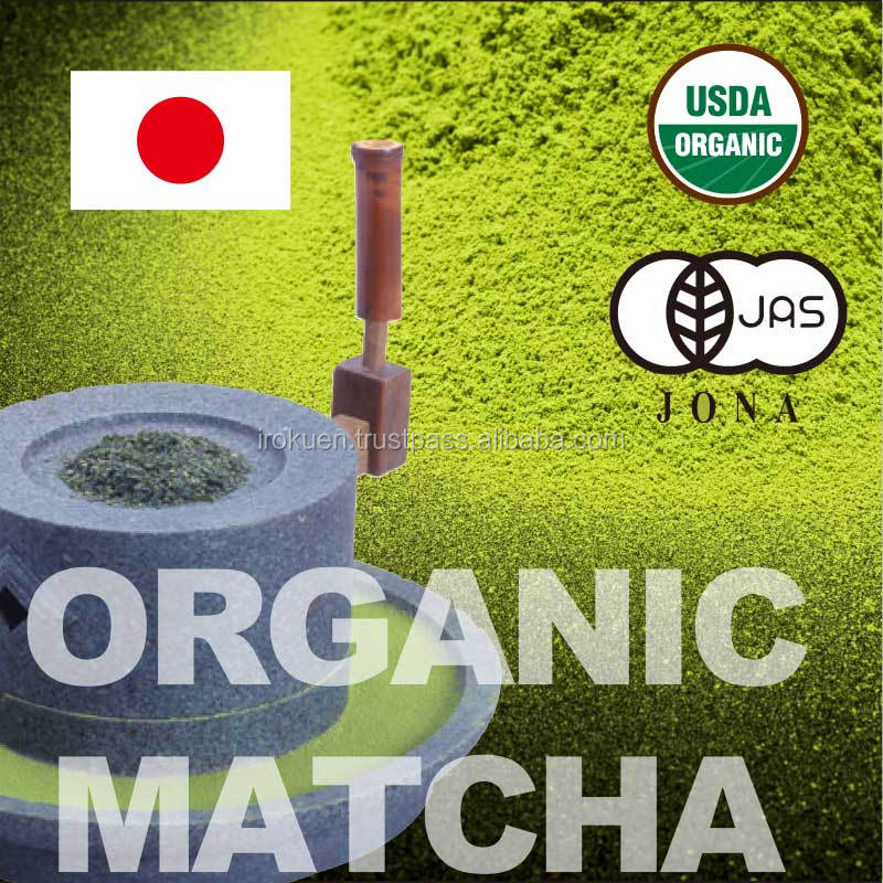 Various kinds of delicious matcha tea organic with traditional blending technology