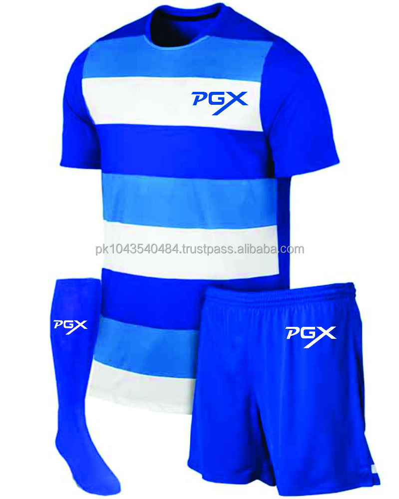 Custom made Soccer Football Uniform Set with socks