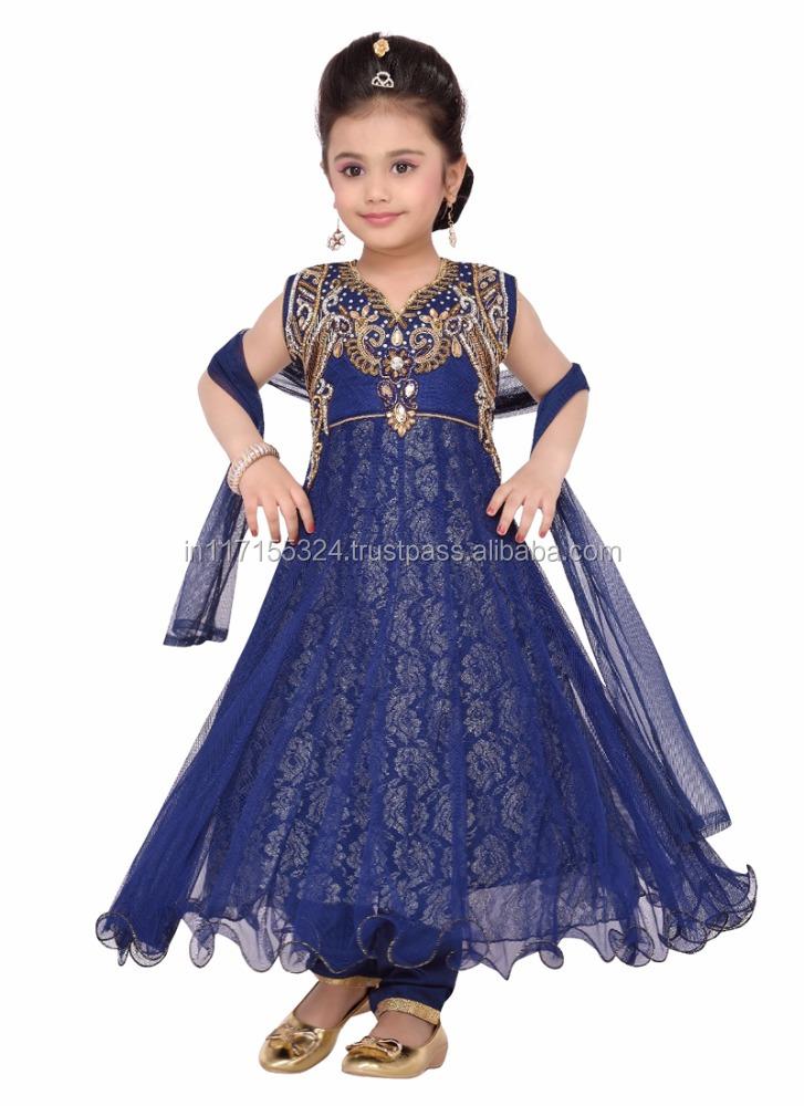 Western Girls Party Wear Dresses Elegant Baby Girls Net Party Wear ...