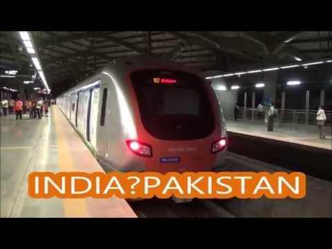 Pakistan Metro System vs Indian Metro System ~Pakistani Railways vs Indian Railways