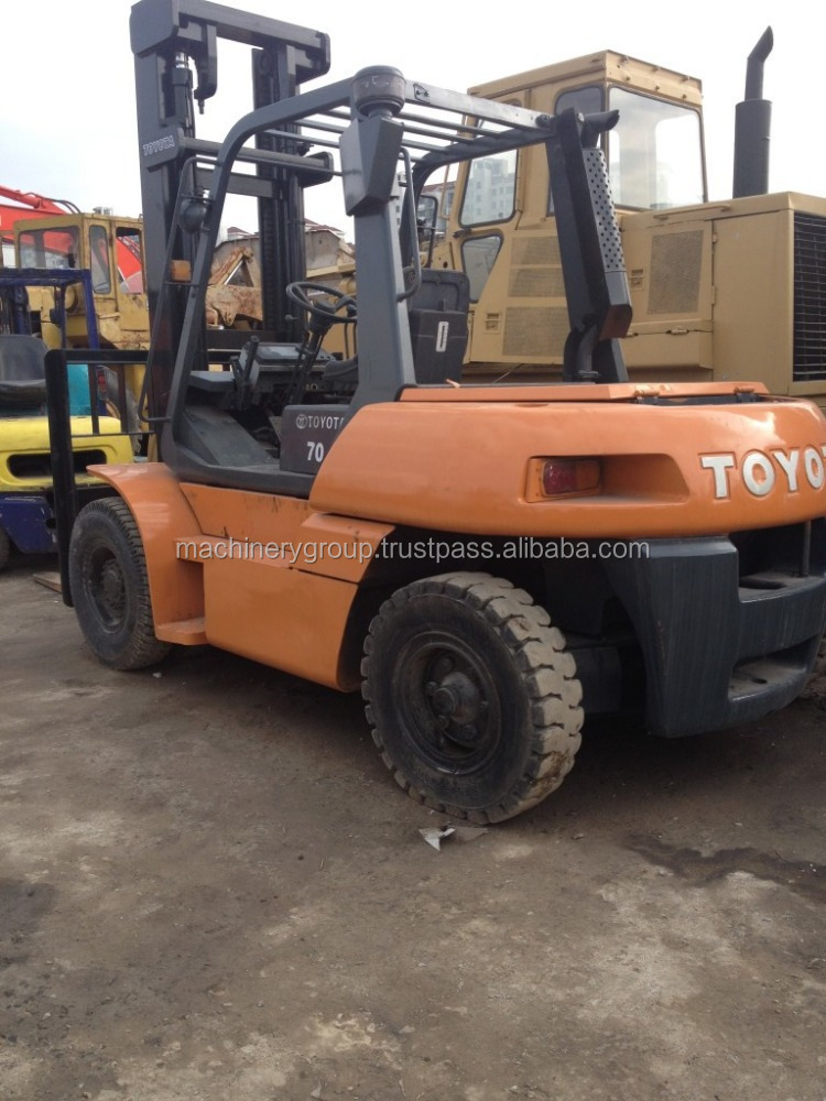 Used Toyota Forklift 7T, Toyota FD70