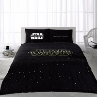 Star Wars Licensed Bedding Duvet Quilt Cover Set 100% Cotton Double Size 4 PCS