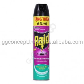Raid Multi Insect Killer (Eucalipto) 600 ml/assassino do inseto, inseticida aerosol, pulverização de pesticidas