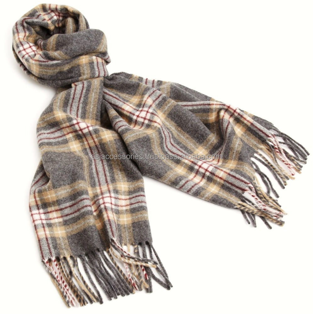 New products on India market high quality 100% cashmere scarf