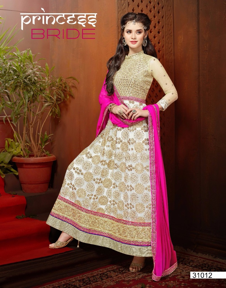 Indian Designer Embroidery Anarkali Salwar Suit Type Salwar Kameez
