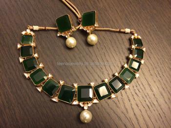 ae2ca8625d6 Kundan Bridal Jewelry Set - Buy