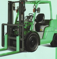 Forklift with Pneumatic Tyre For Sales and Rental (Mitsubishi FD/FG40N-55N), Leasing, Brand New and Used