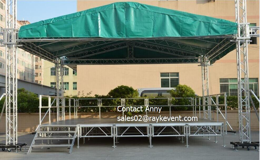 Top quality 290mm truss aluminum stage frame truss structure/Event lighting spigot dj truss/Used aluminum