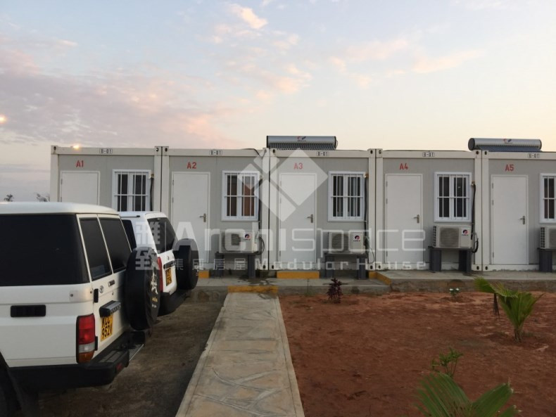 China manufacturer prefab house labor camp for kenya with camp Solutions