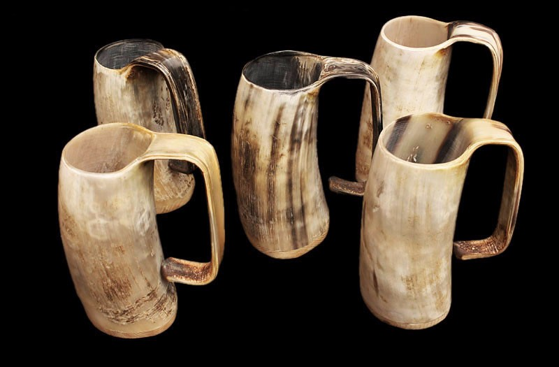 Drinking Horn Beer Mug Tankard And Glass Real Horn Buffalo
