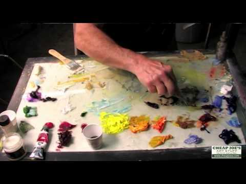 Andy Braitman- Oil Class- Part 3- Andy's Palette