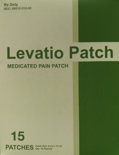 Levatio Patch-Pain relief patch