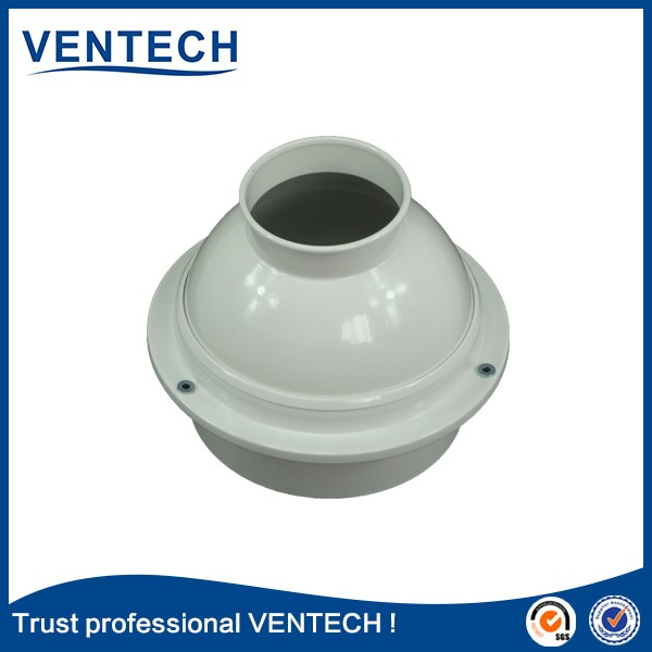 Hvac Air Conditioner Ventilation Aluminum Adjustable Ball