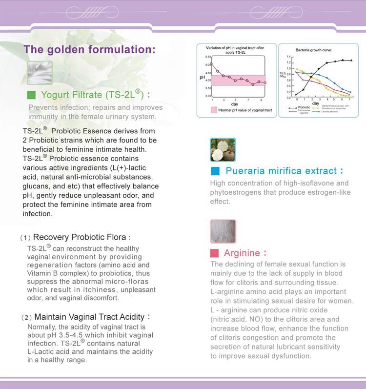 Herbal And Probiotic Essence Vaginal Lubricant Tightening Gel ...