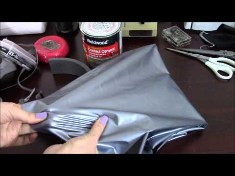How to make fabric covered foam armor