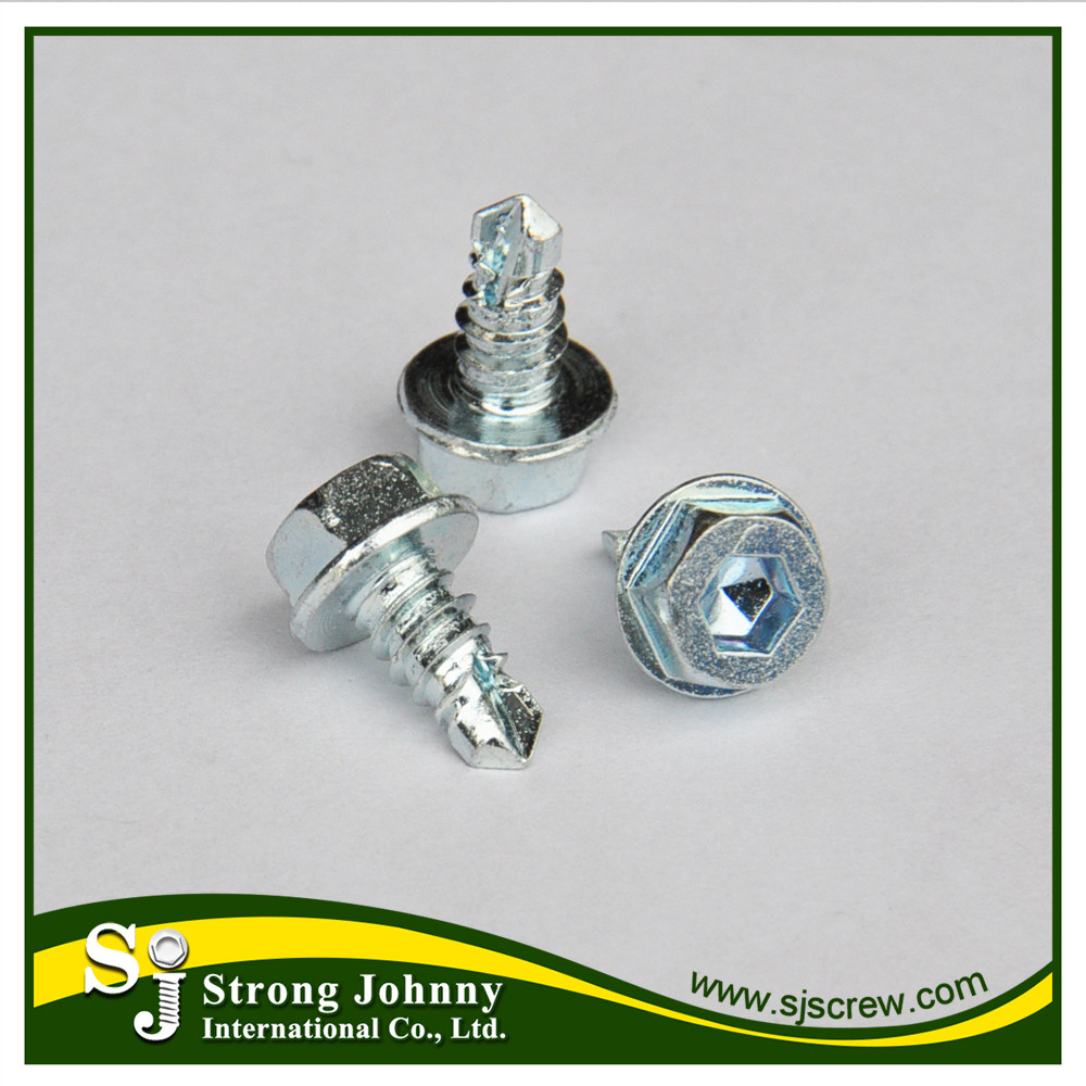 White Or Blue Zinc Countersunk Flat Head Decorative Metal Screws ...