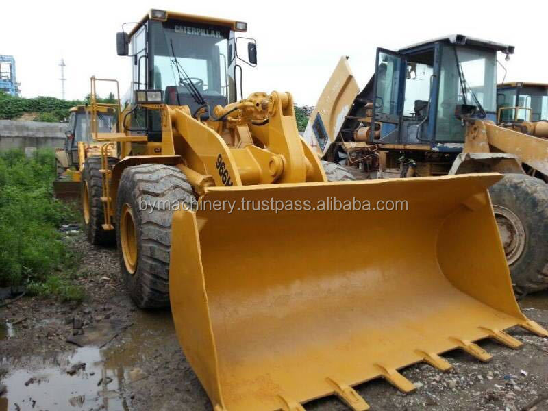 Almost new Used CATERPILLAR 966H Wheel Loader for sale