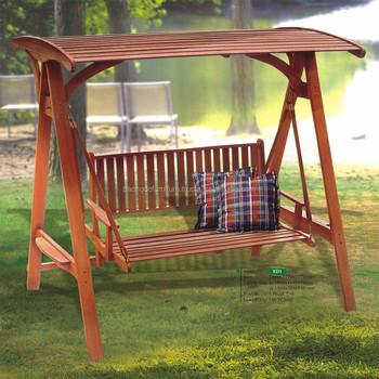Swing Chair 2 Seats Vietnam Outdoor Wood Furniture Manufacturer/ Solid Wood  Furniture /Outdoor Swing