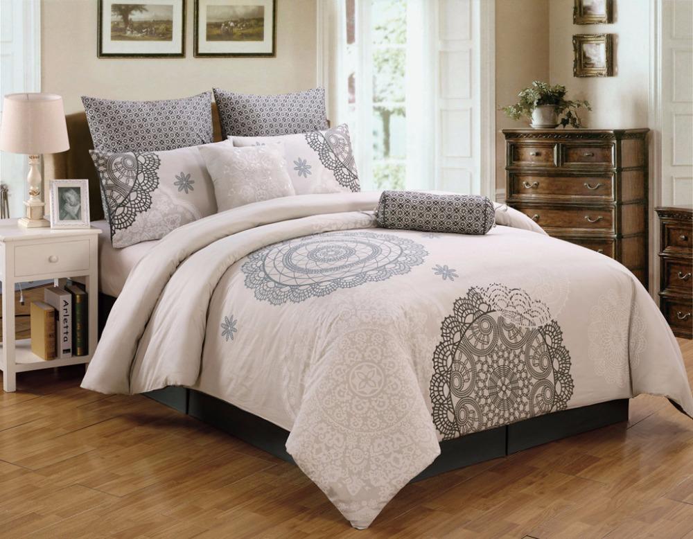 100 Poly Cotton Comforter Set Buy King Size Comforter Set