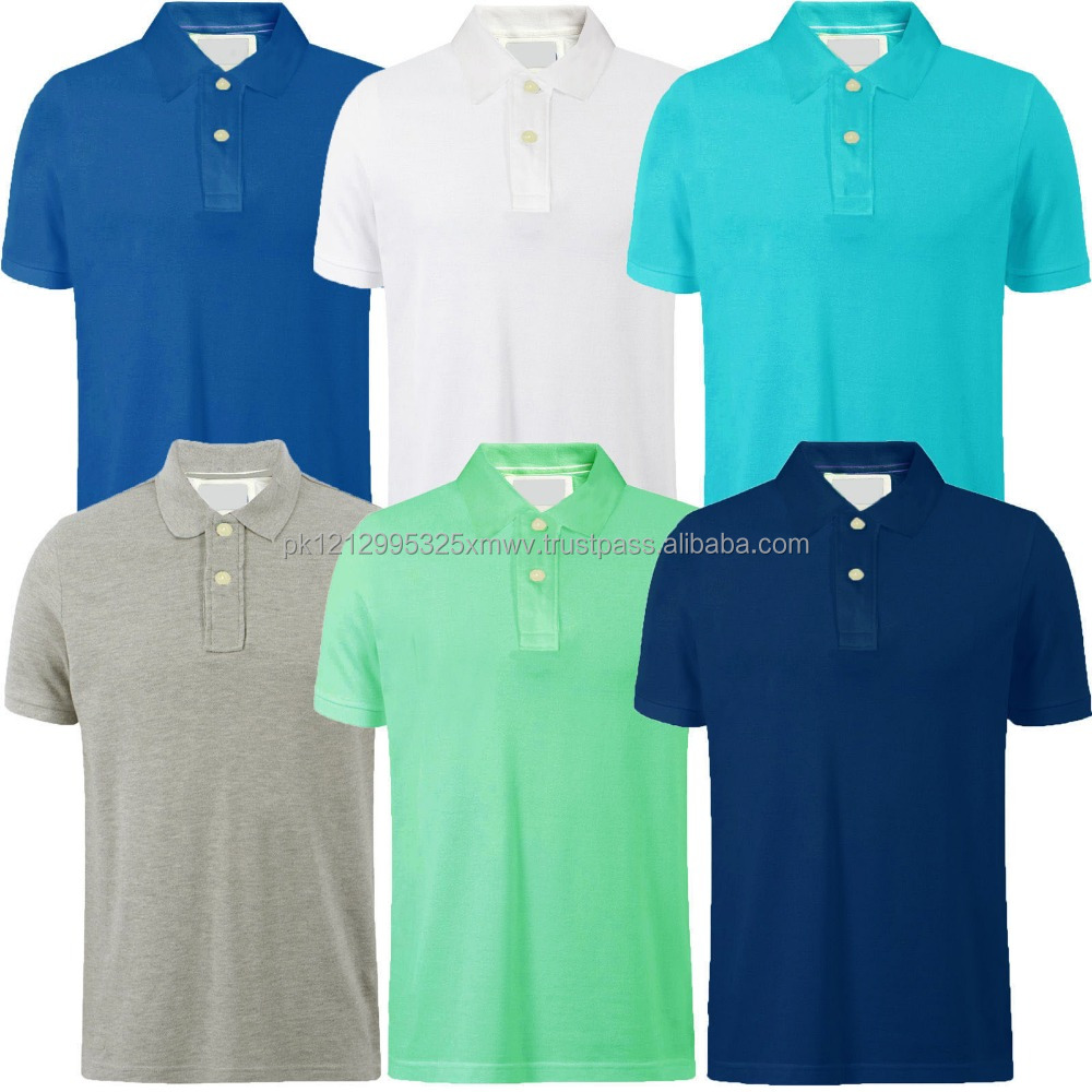 c6290fcb Hot products wholesale bulk polo shirts can customize logos and prints mens  polo t shirt