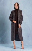 100% Mongolian Camel Wool and Cashmere mixed women coat