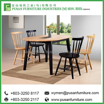 Modern Dining Table Set Bavaria 5 Pieces Furniture Made In Malaysia