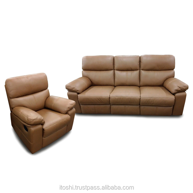 haute qualit classique en cuir confortable canap avec l 39 option multiple inclinable canap. Black Bedroom Furniture Sets. Home Design Ideas