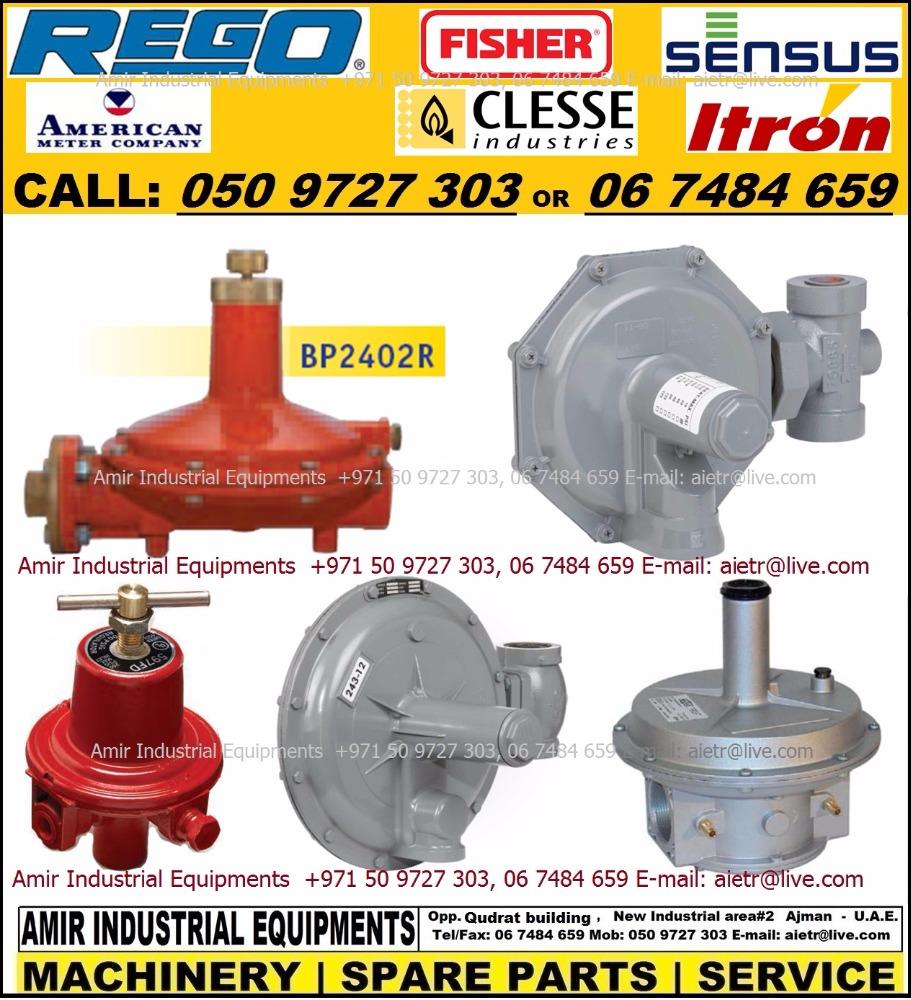 Gas Pressure Regulator Novacomet Clesse Rego Fisher Itron Sensus American  Meter Dealer Supplier In Dubai Sharjah Ajman Rak Uae - Buy Boiler Burner  Gas