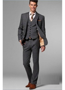 Mens Wedding Suit Slim Fit Suits Men