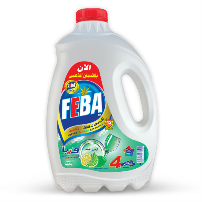 FEBA washing-up liquid 4 kg Lime