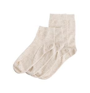 Linen/cotton organic natural sport low-cut socks men and women