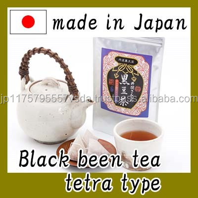 Healthy and Delicious de black soybean decaffeinated tea with healthful made in Japan