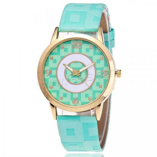 New Women Wrist Watch PU with zinc alloy dial women wrist watch1142273