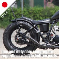 Japanese Hardtail for bobber style made in Japan, One and only chic congregate, regardless of style bolt-on parts.