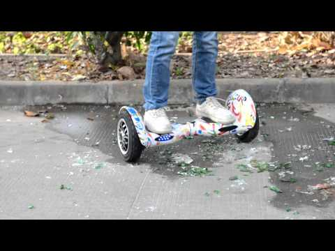 10inch Big Wheel Self Balancing Electric Scooter Hoverboard SH10 Glass Test Quality Test