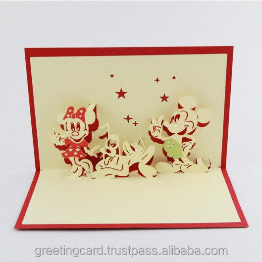 Деда мороза, объемные дизайнерские открытки