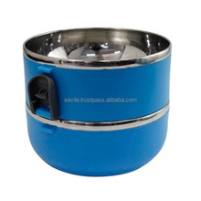 Two Layer Lunch Box Stainless Steel Promotion Lunch Box